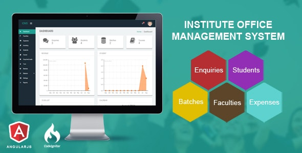 Institute Office Management System - CodeCanyon Item for Sale