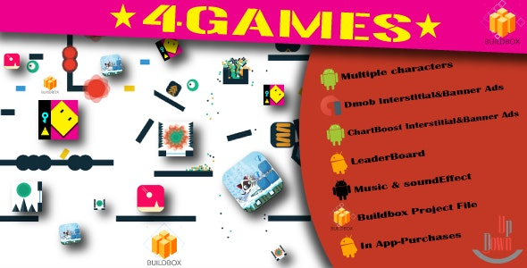 4BuildBox IOS Games - CodeCanyon Item for Sale