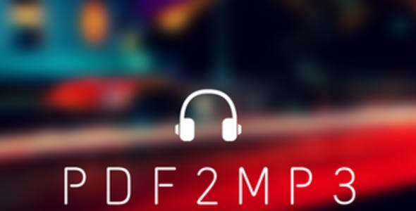 PDF2MP3