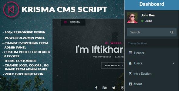 Krisma CMS Script