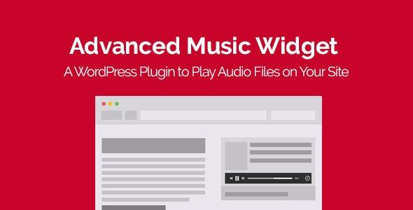 Advanced Music Widget WordPress Plugin - CodeCanyon Item for Sale