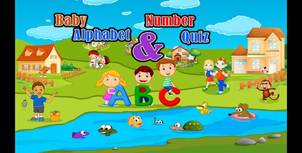 Baby Quiz Alphabet And Numbers - CodeCanyon Item for Sale