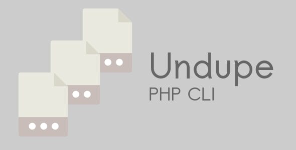 Undupe PHP CLI