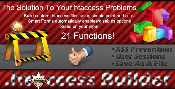 .htaccess Builder - CodeCanyon Item for Sale