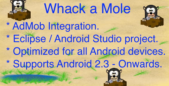 Whack a Mole With AdMob