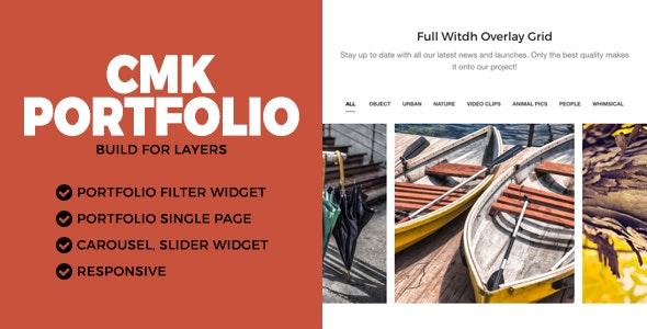 CMK Portfolio LayersWP Extension - CodeCanyon Item for Sale