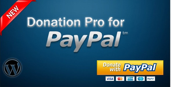3 Seconds PayPal Donation for Wordpress - CodeCanyon Item for Sale
