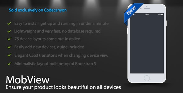 MobView - Lightweight Multi-Device Viewer - CodeCanyon Item for Sale