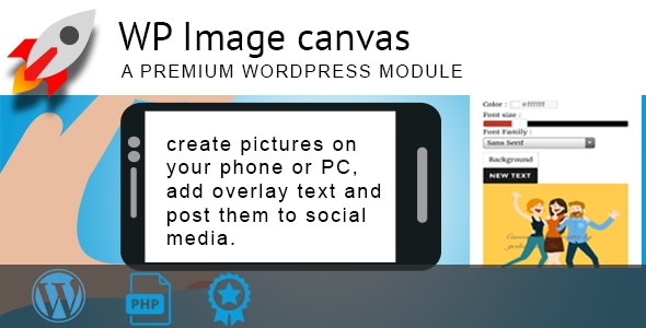 WP Image canvas - CodeCanyon Item for Sale