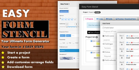 Easy Form Stencil - CodeCanyon Item for Sale