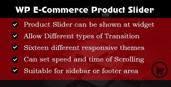 WP E-commerce  Products Slider