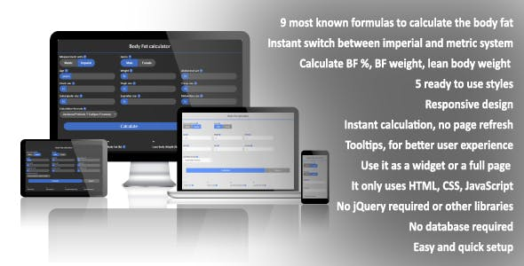 Medical Calculator Plugins, Code & Scripts from CodeCanyon
