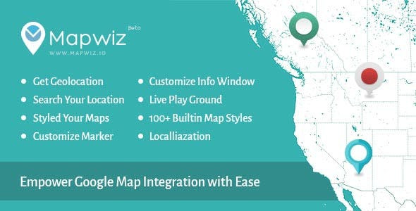 Mapwiz - Build your Google Map with Ease