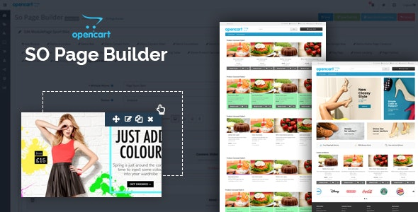 So Page Builder - Responsive OpenCart 3 0 x & OpenCart 2 x