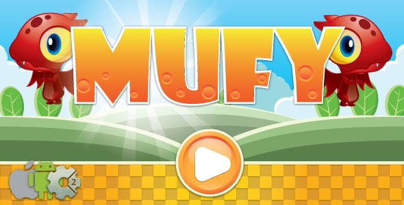 Mufy - HTML5 game. Construct 2 (.capx) + ADS - CodeCanyon Item for Sale