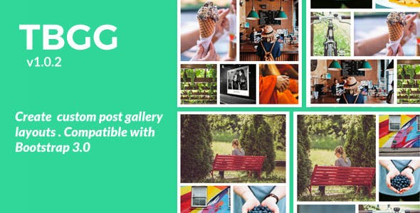 TBGG - Create custom post gallery layouts WordPress plugin