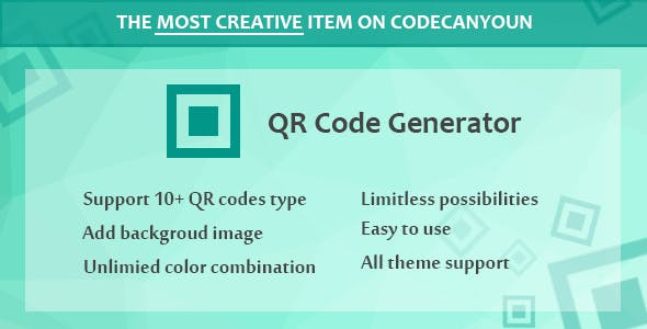 Visual Composer - QR Code Generator - CodeCanyon Item for Sale