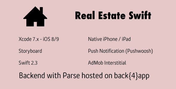 Real Estate Swift - CodeCanyon Item for Sale
