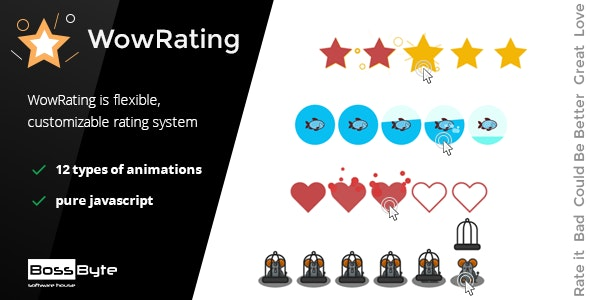 WowRating - Make Rating with Effect WOW - CodeCanyon Item for Sale