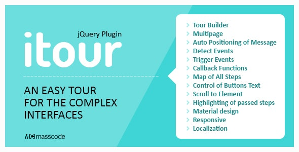 iTour - An Easy Tour for the Complex Interface by yurik417