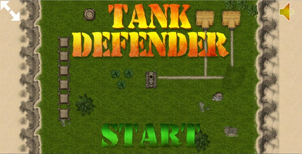 Tank Defender - HTML5 Mobile Game - CodeCanyon Item for Sale