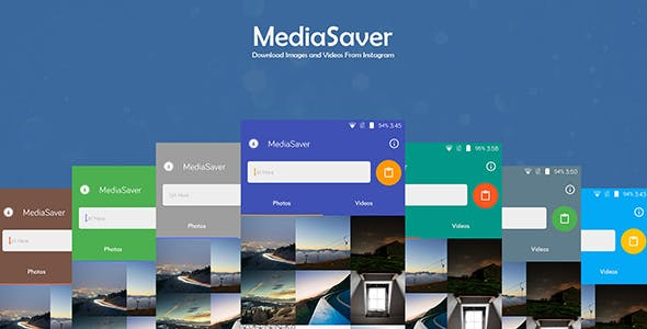 MediaSaver - Download Images and Videos From Instagram + AdMob