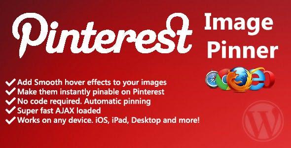 Pinterest Image Hover Pinner
