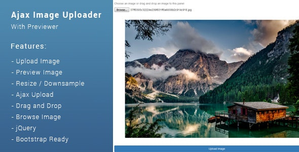 Ajax Image Upload With Preview - CodeCanyon Item for Sale