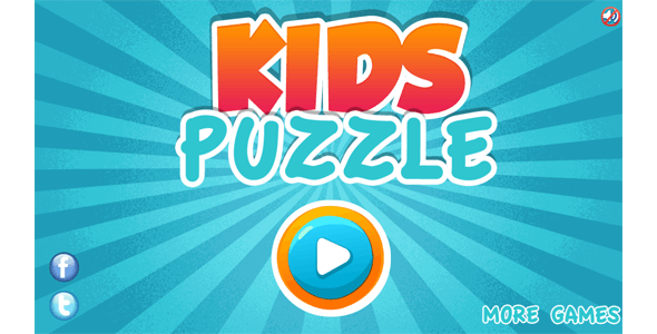 Kids Puzzle - HTML5 Educational Game - CodeCanyon Item for Sale