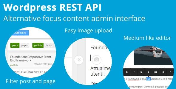 Wordpress REST API - CodeCanyon Item for Sale