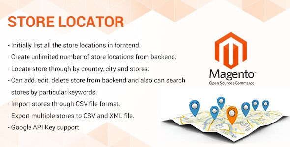 Store Locator magento2 extension - CodeCanyon Item for Sale