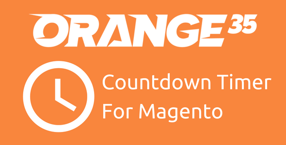 Magento Countdown Timer from Orange35 - CodeCanyon Item for Sale
