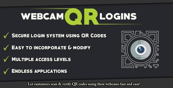 Webcam QR Login System - CodeCanyon Item for Sale