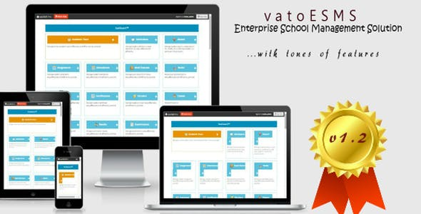 vatoESMS v1.2 - Enterprise School Management System