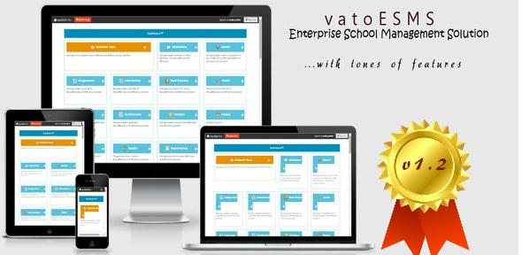vatoESMS v1.2 - Enterprise School Management System - CodeCanyon Item for Sale