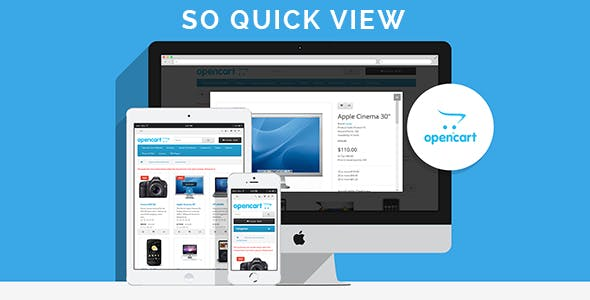 So Quickview - Responsive OpenCart 3.0.x & OpenCart 2.x Module