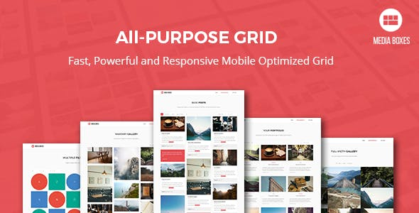 Media Boxes Portfolio - Responsive jQuery Grid Plugin