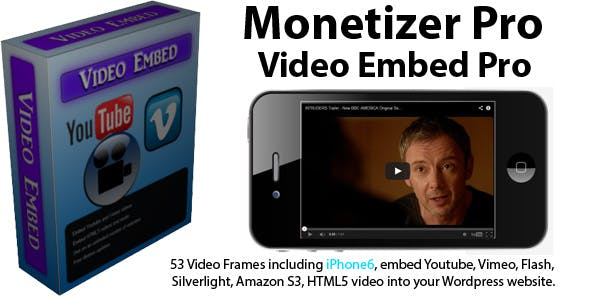 Monetizer Pro VideoEmbed Pro