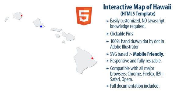 Interactive Map of Hawaii
