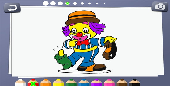 Coloring book for kids - HTML5 Educational Game - CodeCanyon Item for Sale