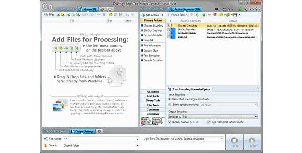 Batch Encoding Converter Standard - CodeCanyon Item for Sale