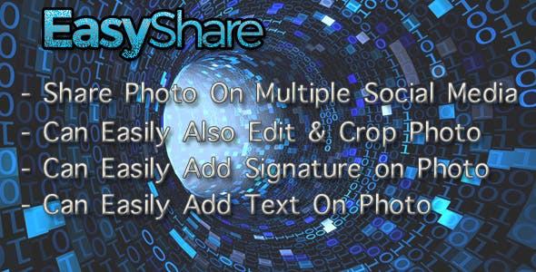 EasyShare On Multiple SocialMedia