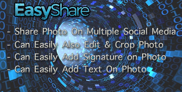 EasyShare On Multiple SocialMedia - CodeCanyon Item for Sale