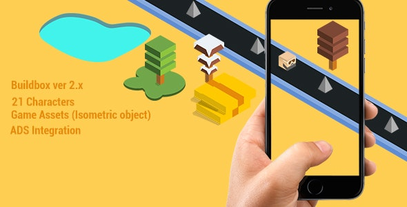 Jumpy Cube  Android & IOS GAME   - CodeCanyon Item for Sale