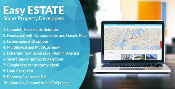 EasyEstate - Real Estate Portal