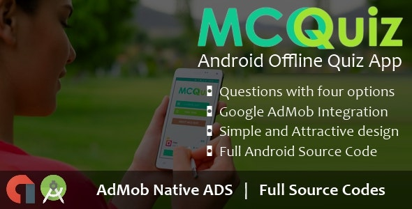 MCQ Quiz - Android Offline Quiz App - CodeCanyon Item for Sale