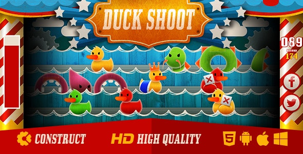 Duck Shoot - CodeCanyon Item for Sale
