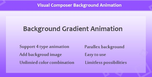Visual Composer - Background Gradient Animation - CodeCanyon Item for Sale