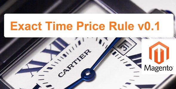 Exact Time Price Rule | Magento Extension