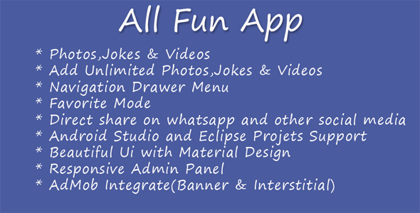 All Fun App - CodeCanyon Item for Sale